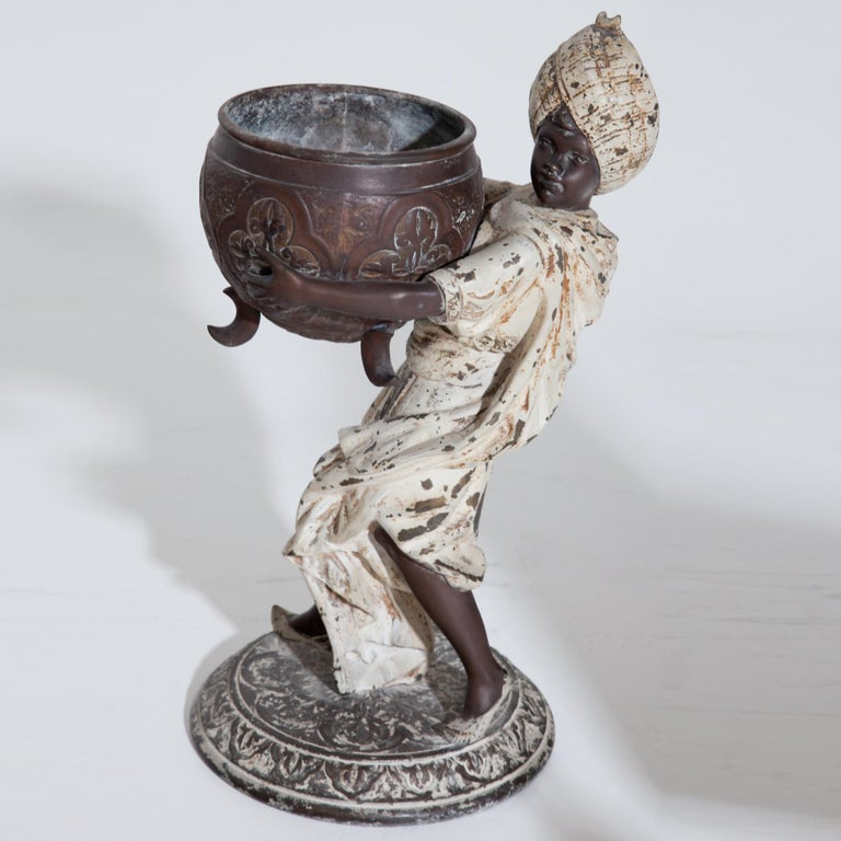 Fortune Teller with Moors, German, circa 1880 For Sale 6
