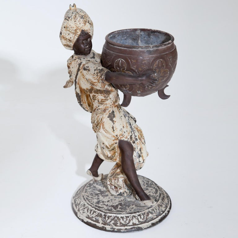 Fortune Teller with Moors, German, circa 1880 For Sale 9