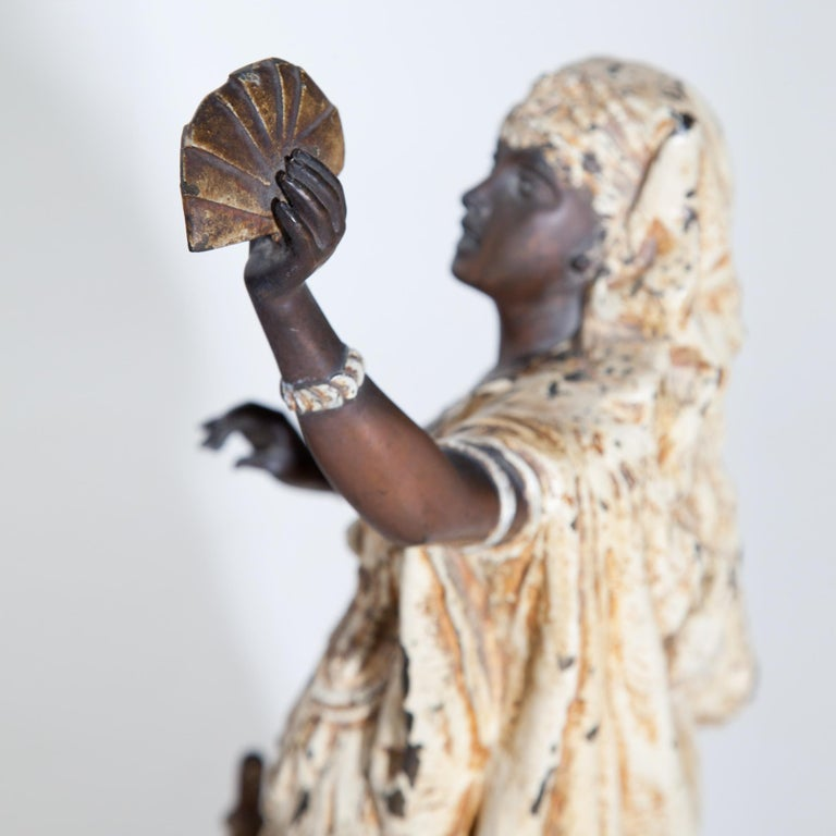 Fortune Teller with Moors, German, circa 1880 For Sale 1