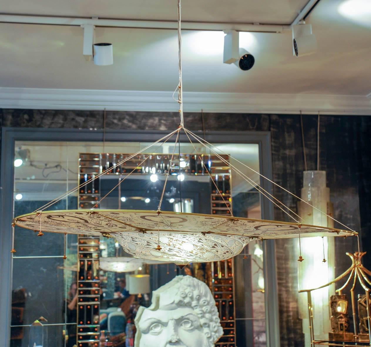 ring with chandelier en cesendello b fortuny from general product lighting venetia by large studium