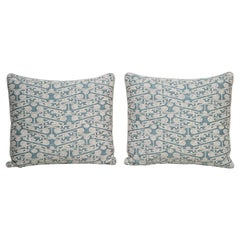 Fortuny Pillow in Blue and White