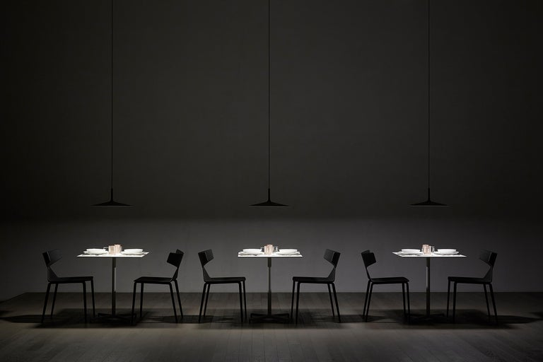 Foscarini Aplomb Large Suspension in Grey by Lucidi and Pevere In New Condition For Sale In New York, NY