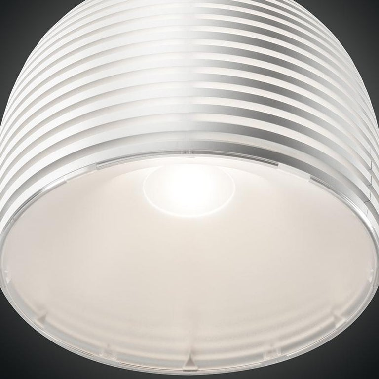 Modern Foscarini Behive Suspension Lamp in White by Werner Aisslinger For Sale