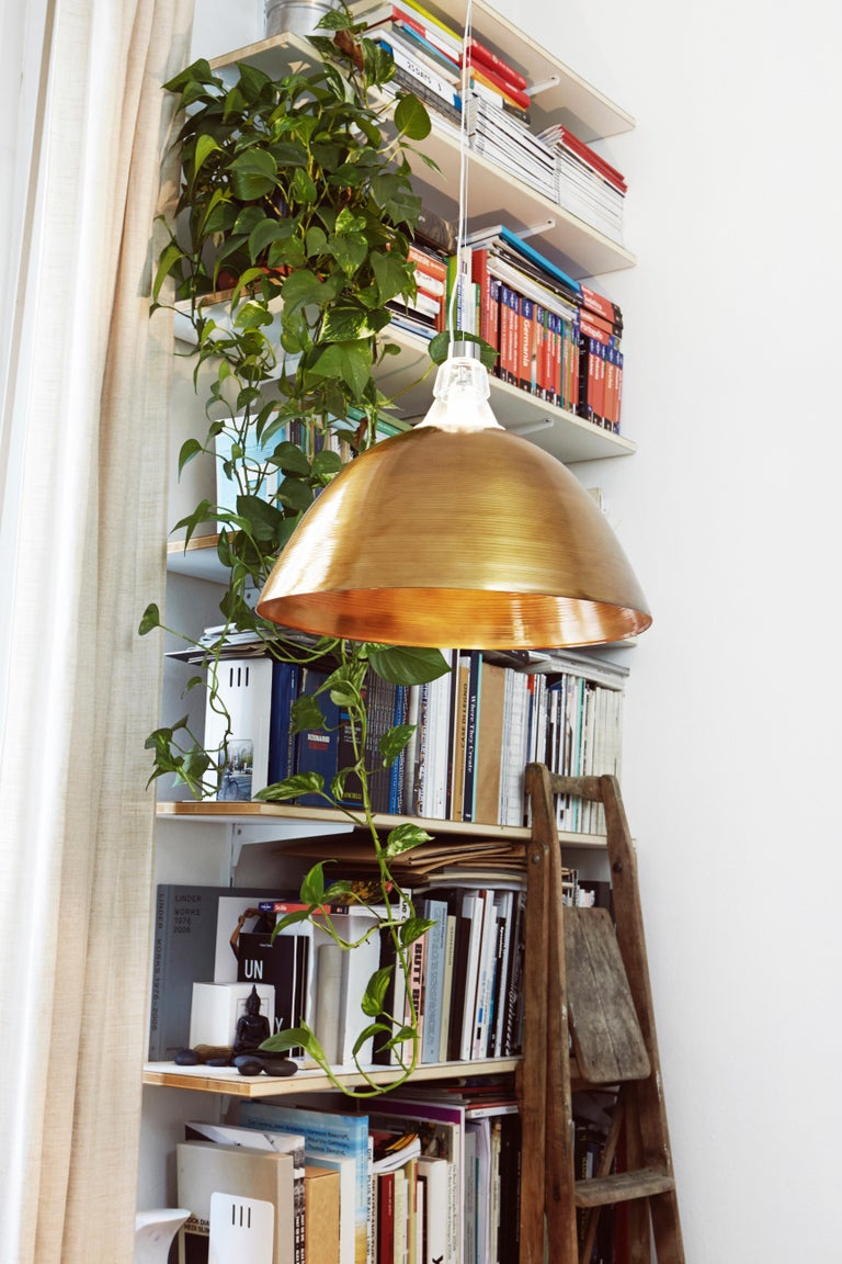Italian Foscarini Bell Suspension Lamp in Bronze by Diesel For Sale