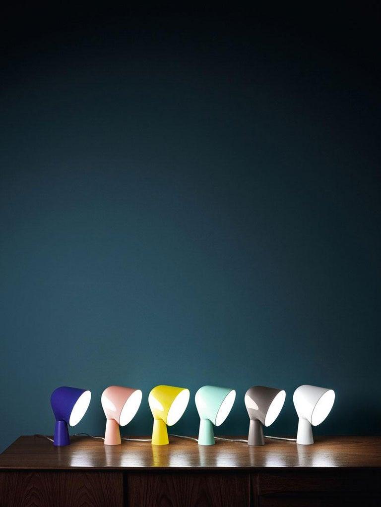 Foscarini Binic Tischlampe in Gelb von Lonna Vautrin 3