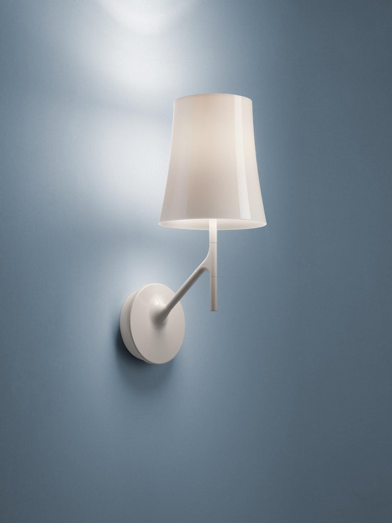 Modern Foscarini Birdie Wall Lamp in Amaranth by Ludovica and Roberto Palomba For Sale