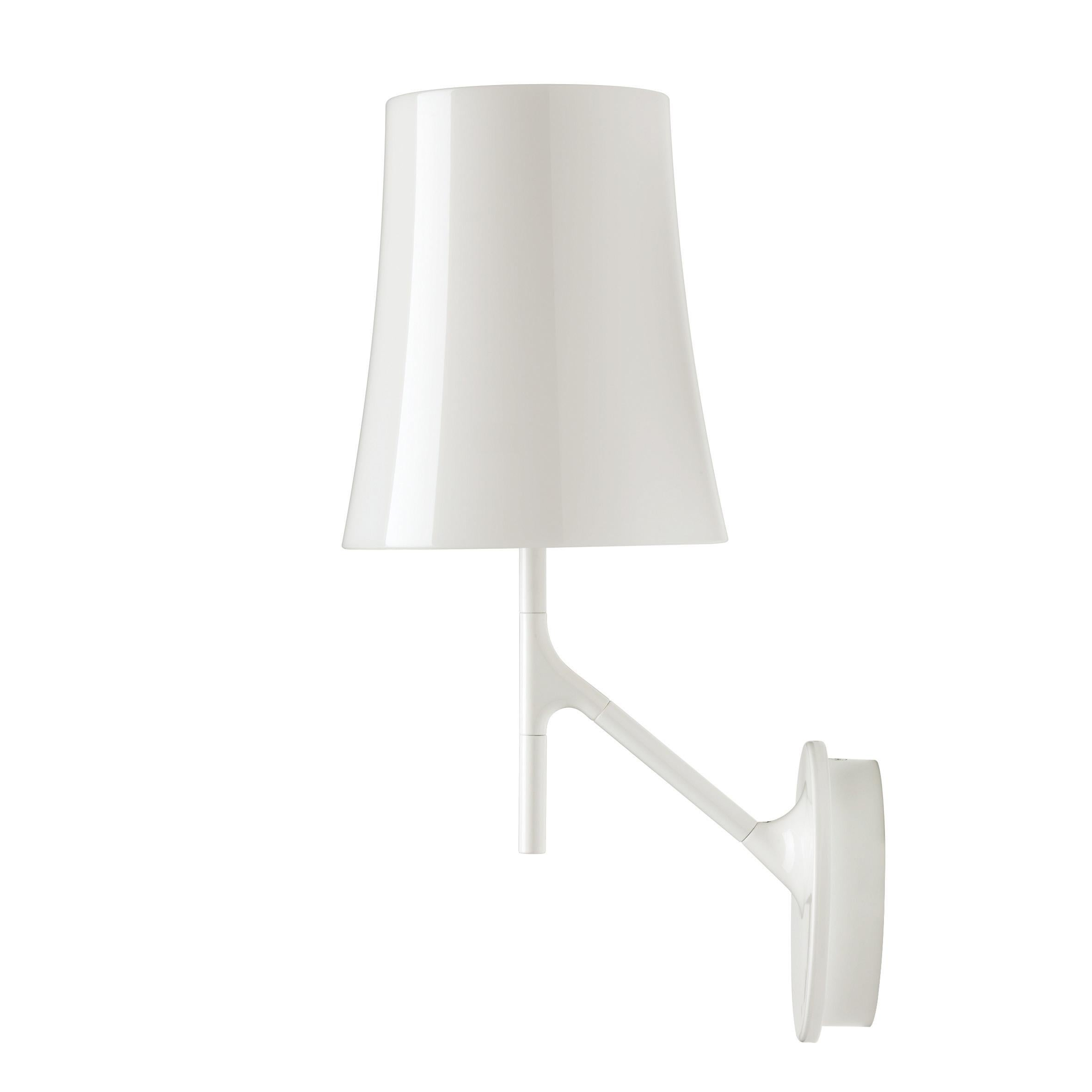 Foscarini Birdie Wall Lamp in White by Ludovica and Roberto Palomba