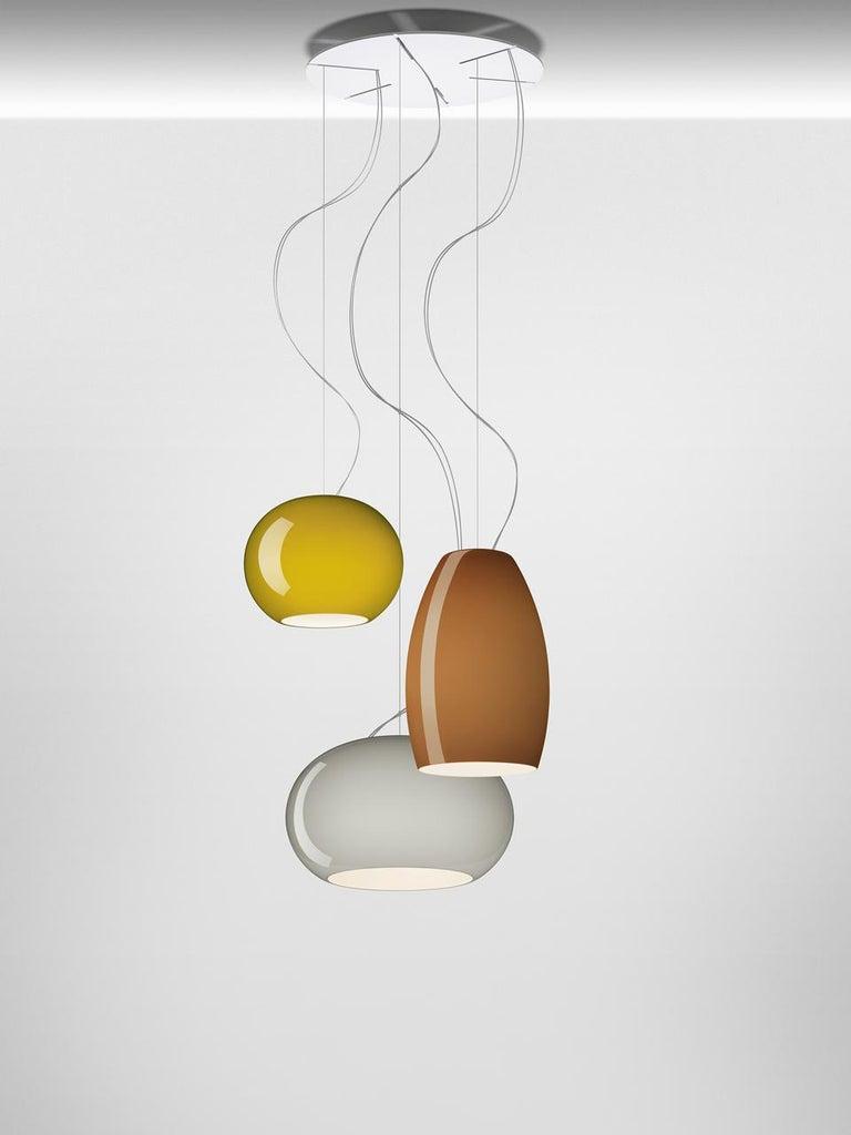 Italian Foscarini Buds 2 LED Suspension Lamp in Warm White by Rodolfo Dordoni For Sale