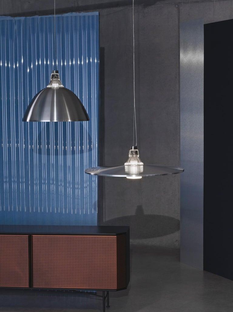 Varnished Foscarini Crash Suspension Lamp in Bronze by Diesel For Sale