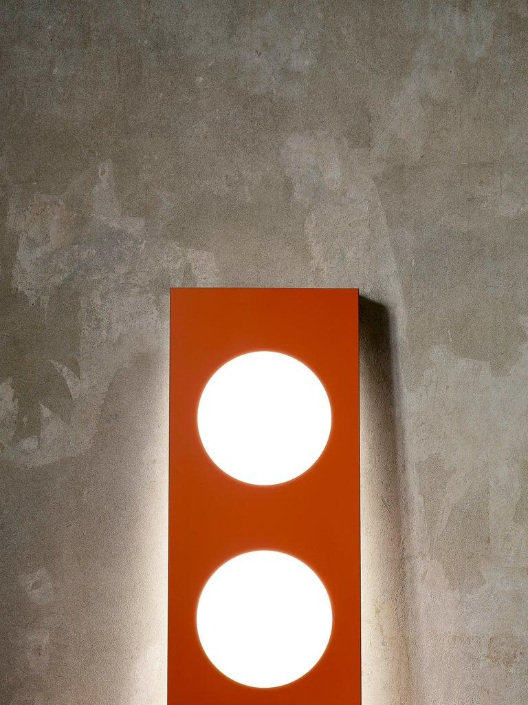 Modern Foscarini Dolmen Floor Lamp in Bronze by Ferruccio Laviani For Sale