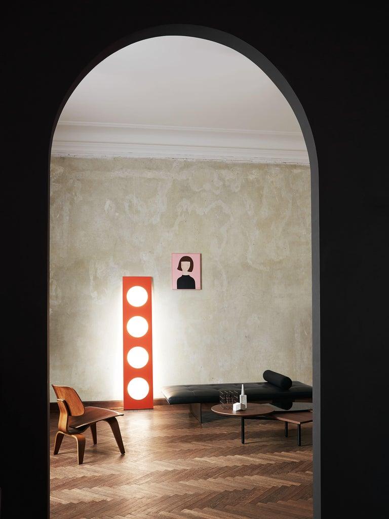 Italian Foscarini Dolmen Floor Lamp in Bronze by Ferruccio Laviani For Sale
