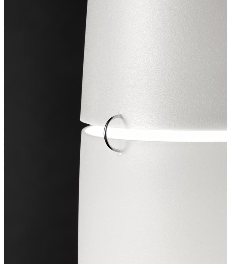 Foscarini Havana Stehlampe in Weiß und Chrom von Jozeph Forakis 4