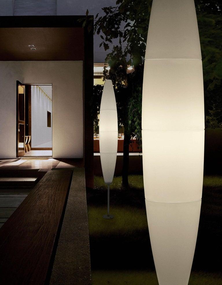 Modern Foscarini Havana Outdoor Floor Lamp in White by Jozeph Forakis For Sale
