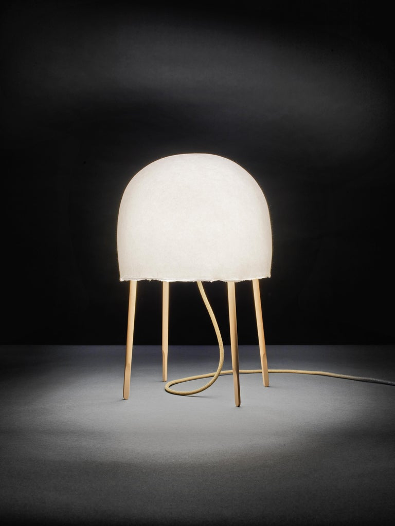 Foscarini Kurage Table Lamp in White by Nendo and Luca Nichetto In New Condition For Sale In New York, NY