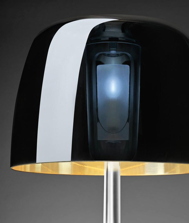 Modern Foscarini Lumiere 25th Large Table Lamp in Transparent Mirror by Rodolfo Dordoni For Sale