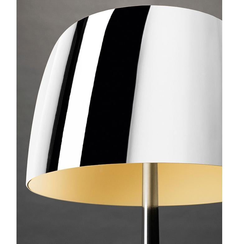 Italian Foscarini Lumiere 25th Large Table Lamp in Transparent Mirror by Rodolfo Dordoni For Sale