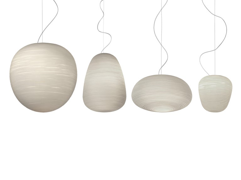 Italian Foscarini Rituals XL LED Suspension Lamp in White by Ludovica & Roberto Palomba For Sale