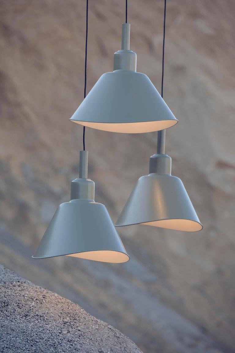 Modern Foscarini Smash Suspension Lamp in Grey by Diesel For Sale