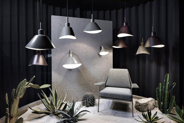 Italian Foscarini Smash Suspension Lamp in Grey by Diesel For Sale