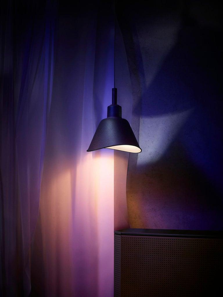 Contemporary Foscarini Smash Suspension Lamp in Grey by Diesel For Sale