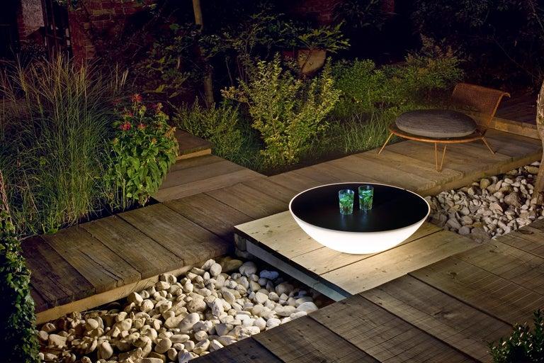 Italian Foscarini Solar Outdoor Floor Lamp in Brown by Jean Marie Massaud For Sale