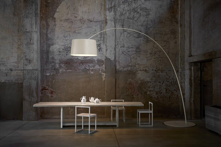Foscarini Twice as Twiggy LED Floor Lamp in Indigo by Marc Sadler In New Condition For Sale In New York, NY