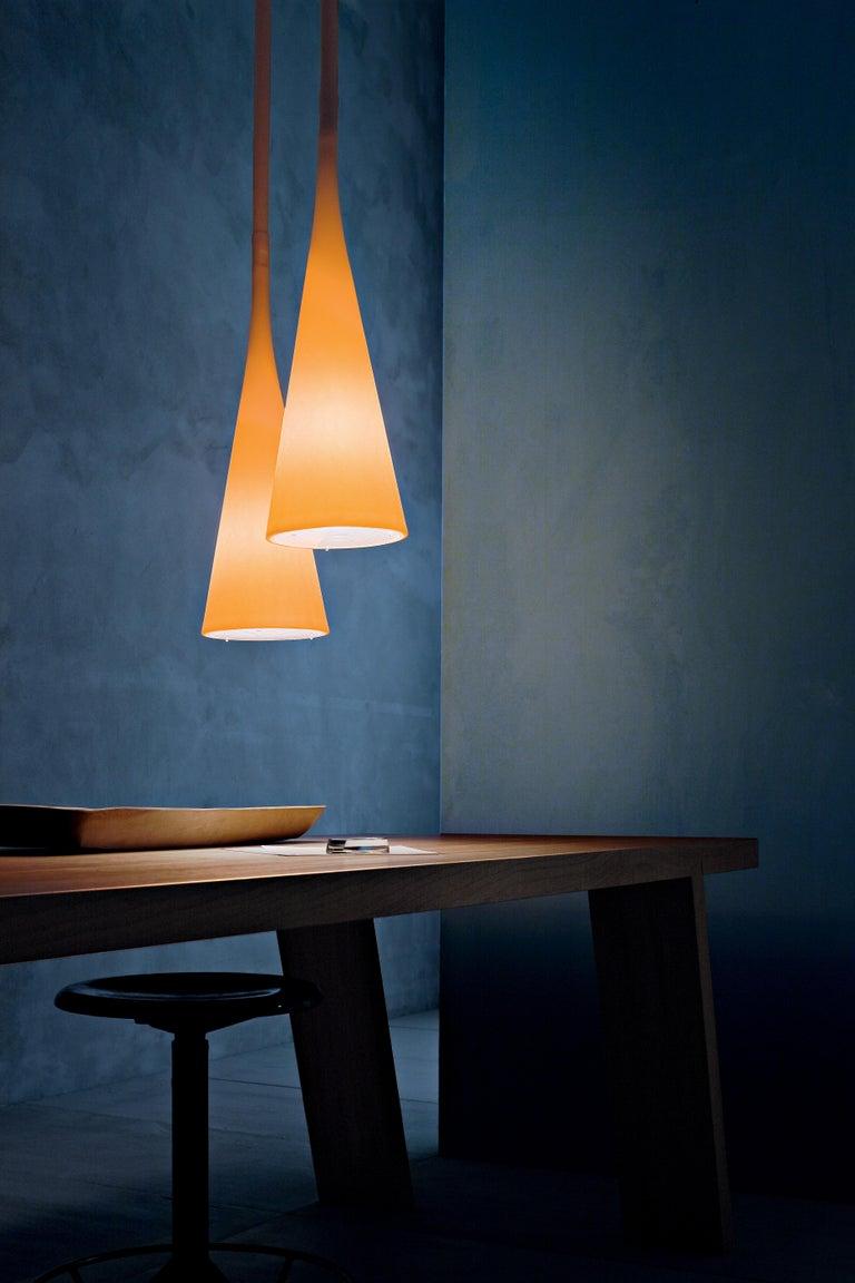 Modern Foscarini UTO Suspension/Table Lamp in White by Lagranja Design For Sale