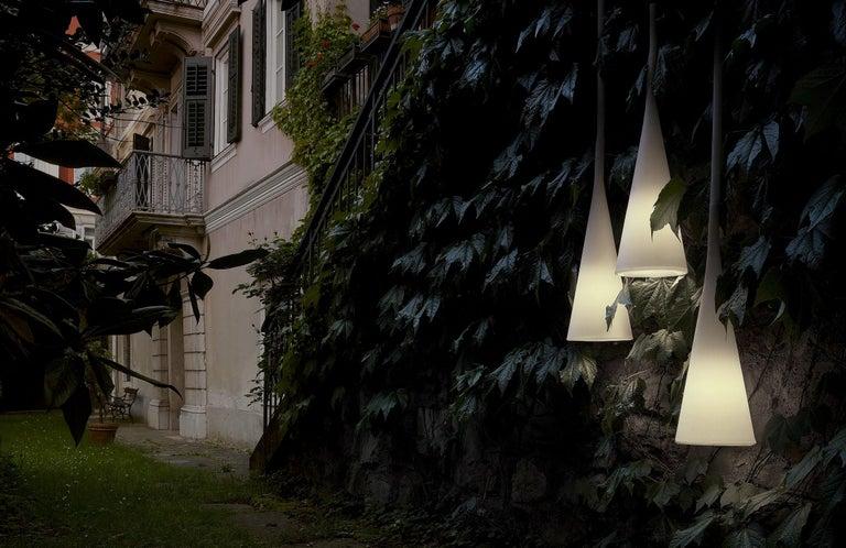 Foscarini UTO Suspension/Table Lamp in White by Lagranja Design For Sale 2