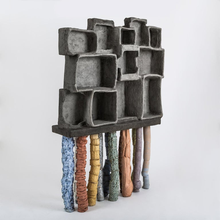 Fossil cabinet is a part of Fossil collection by Nacho Carbonell. As description of Fossil: preserved remains of animals, plants and organism from the remote past, Nacho had been collecting, gather and picking up remains materials from the past