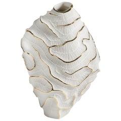 Fossilia Gold Vase