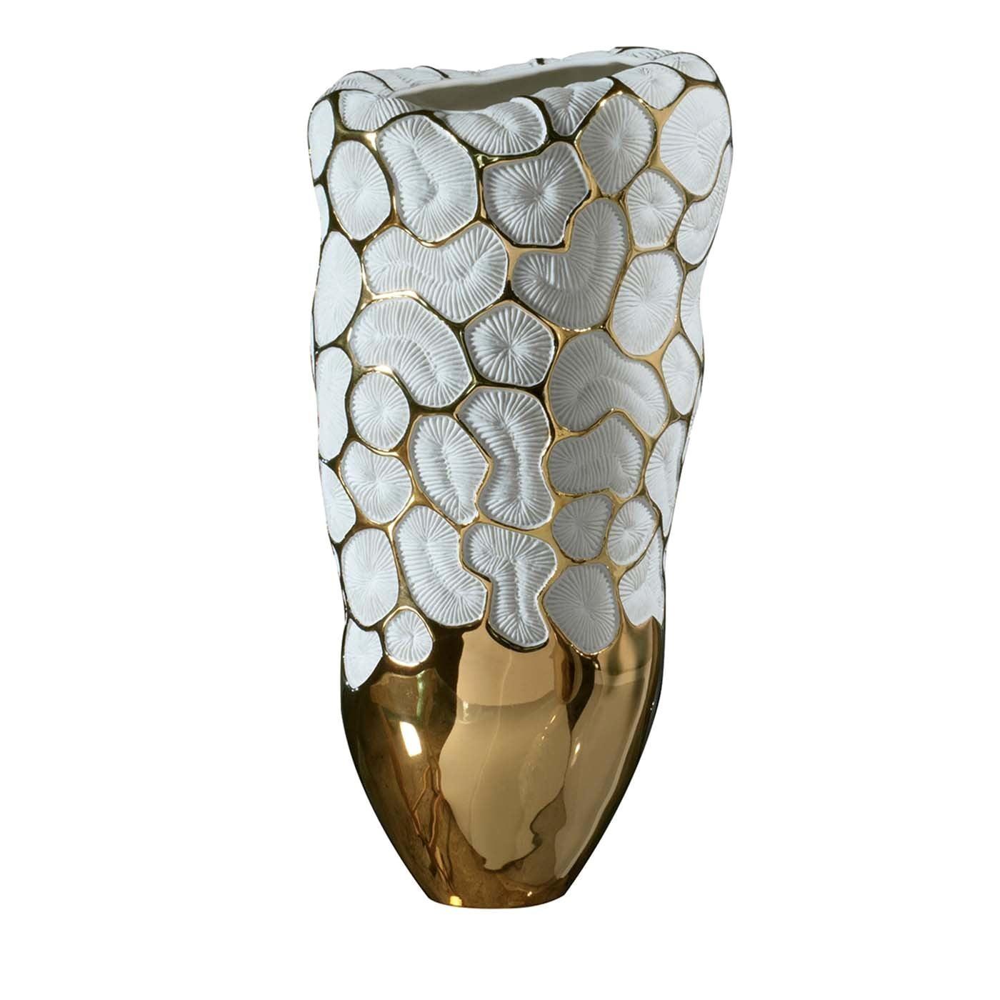 Fossilia King Vase by Fos Ceramiche