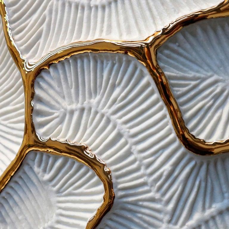 Modern Fossilia Monolite Vase by Fos Ceramiche For Sale