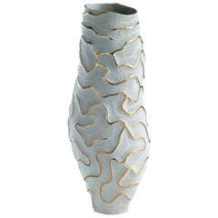 Fossilia Monolite Vase by Fos Ceramiche