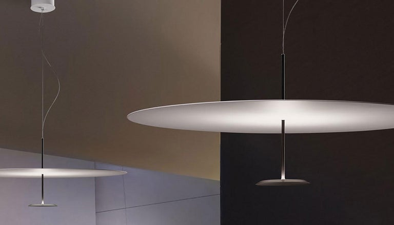 Contemporary Foster + Partners Anodized Black Lumina Dot 800 Pendant Lamp For Sale