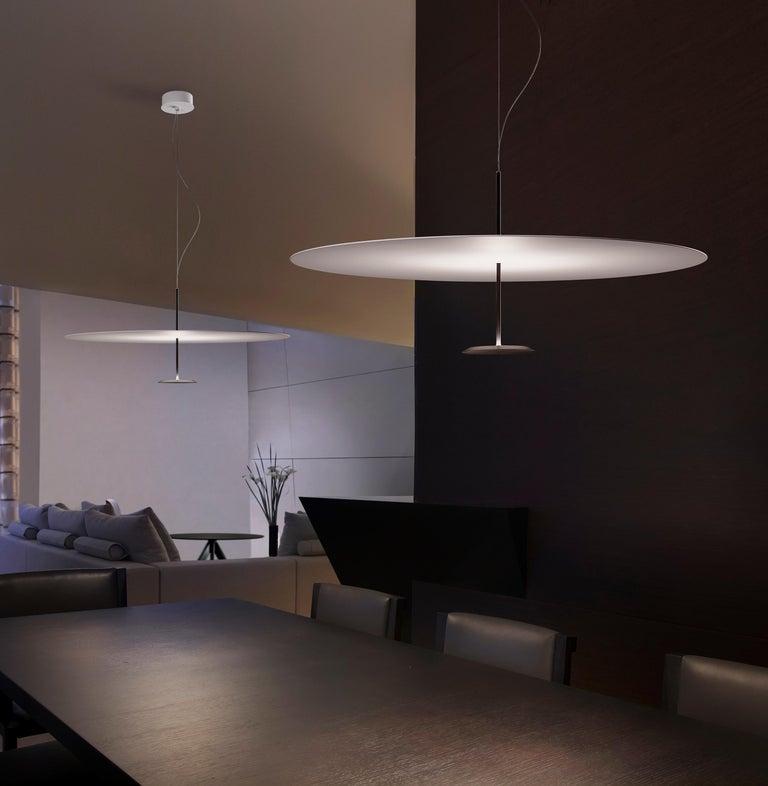 Foster + Partners Anodized Black Lumina Dot 800 Pendant Lamp For Sale 1