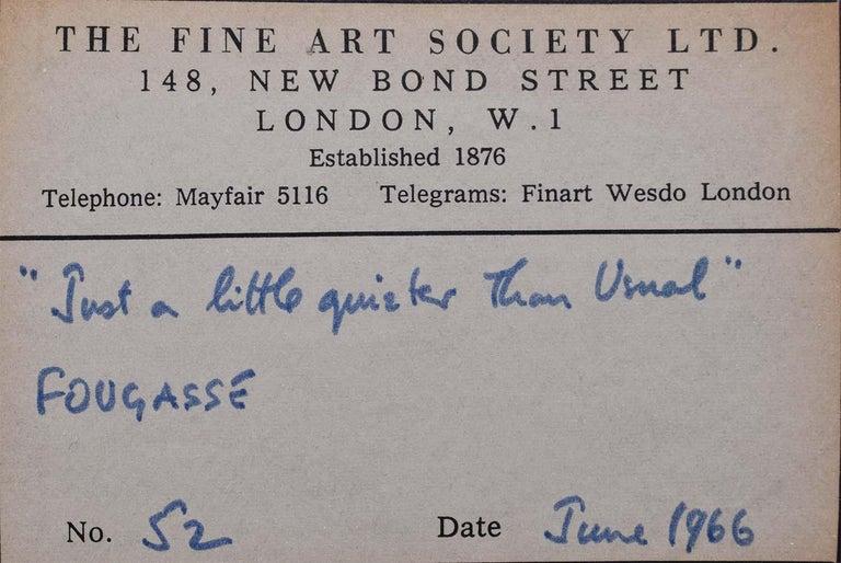 Fougasse 'Yes Sir...' Original Pen & Ink Cartoon for 'Punch'  - Print by Fougasse (Cyril Kenneth Bird)