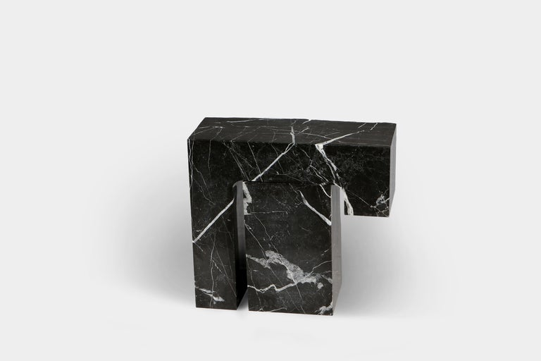 Spontaneity, environmental awareness and the primeval nature of the materials are central themes explored in Found II collection, which focuses on the power of the medium to dictate the final form these functional works of art take.  Side table