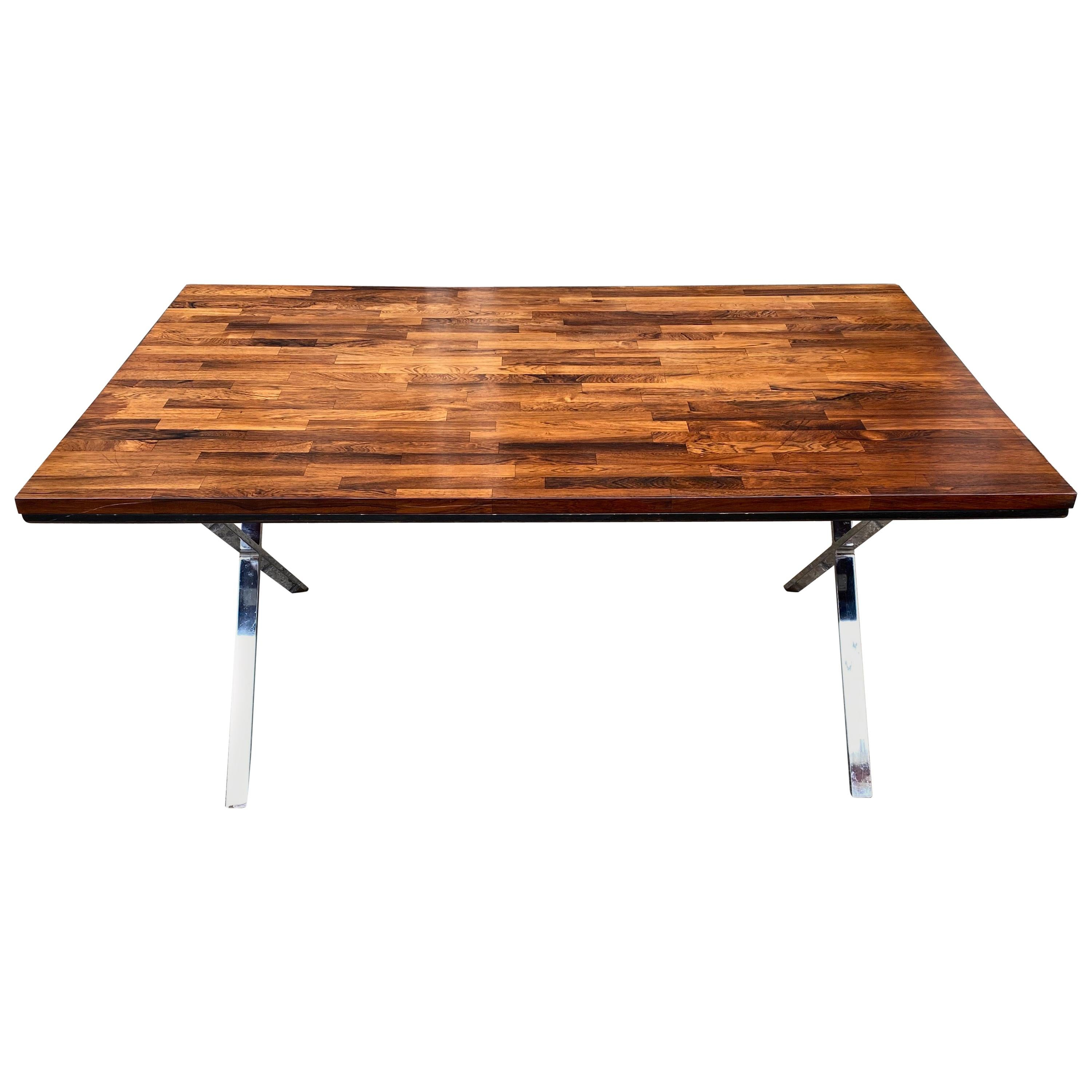 Founders Solid Rosewood Dining Table/Desk or Conference Table