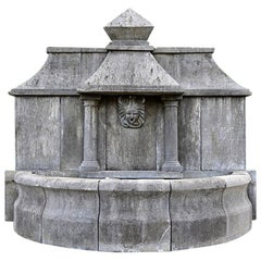 Fountain Made Out of Old Stone, 20th Century