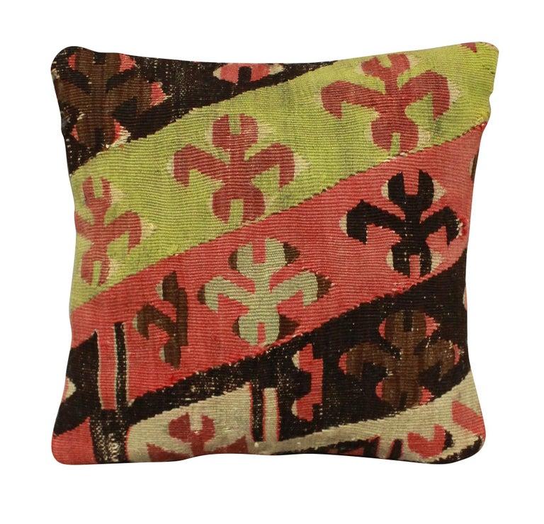 Late 19th Century Four 19th Century Kilim Cushions For Sale