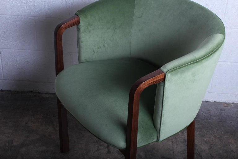 Four Armchairs by Edward Wormley for Dunbar For Sale 5
