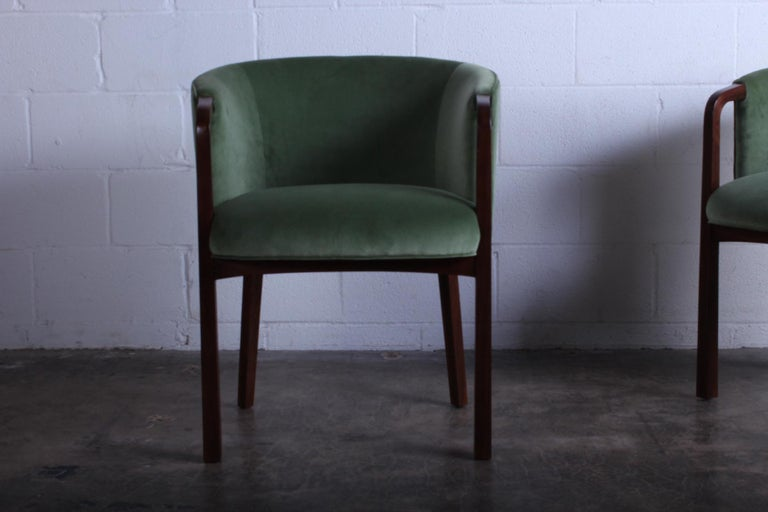 Mid-20th Century Four Armchairs by Edward Wormley for Dunbar For Sale