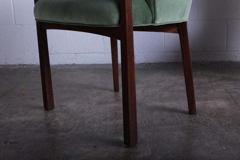 Four Armchairs by Edward Wormley for Dunbar For Sale 1
