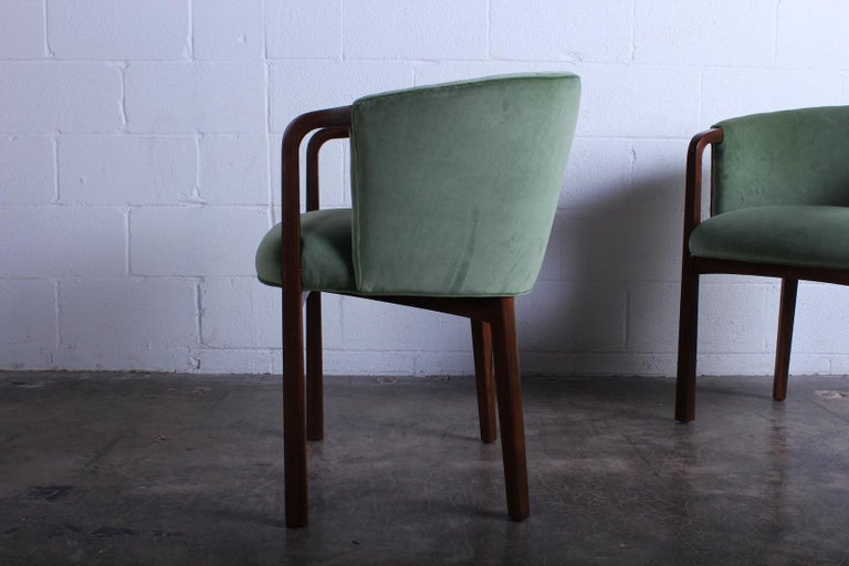 Four Armchairs by Edward Wormley for Dunbar For Sale 2