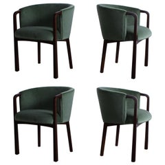 Four Armchairs by Edward Wormley for Dunbar