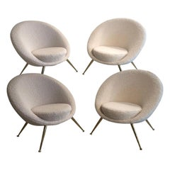 Four Armchairs from 1960
