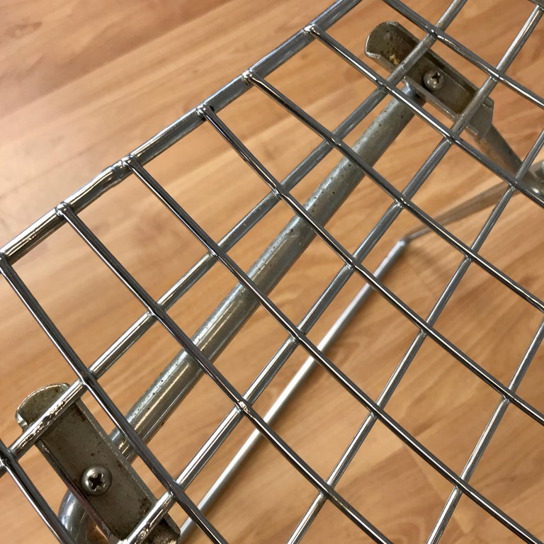 Four Bertoia Chrome Side Chairs for Knoll For Sale 7