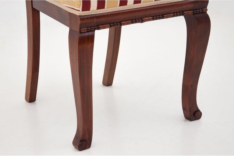 Four Biedermeier Dining Room Chairs In Good Condition For Sale In Chorzów, PL