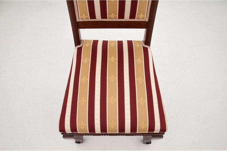 Early 20th Century Four Biedermeier Dining Room Chairs For Sale