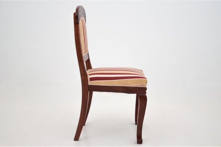 Four Biedermeier Dining Room Chairs For Sale 1
